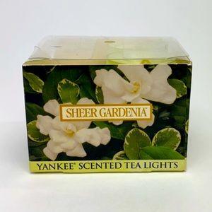 Yankee Candle Gardenia Tea Candles